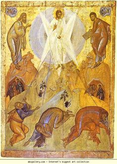 Theophanes the Greek. The Transfiguration. Olga's Gallery.