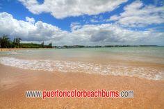 Puerto Nuevo Beach in the town of Vega Baja.  About 35 miles west of San Juan