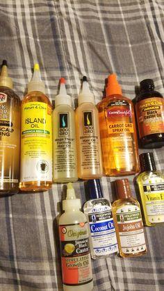 Hair growth oils