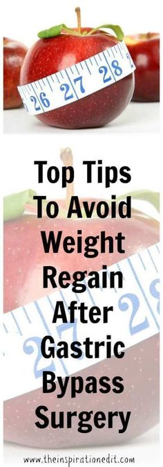 5 Tips to Avoid Weight Regain after Having Gastric Bypass Surgery Gastric bypass surgery is an option for people suffering from obesity that need help losing weight. In most cases, patients lose a…More Gastric Sleeve Diet, Gastric Sleeve Surgery, Gastric Bypass Surgery, Bariatric Eating, Bariatric Recipes, Bariatric Surgery, Vsg Surgery, Protein Snacks, Health Care