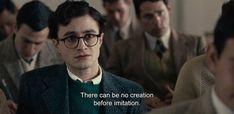 Cinema Quotes, Film Quotes, Kill Your Darlings, Citations Film, Movie Lines, Daniel Radcliffe, Film Stills, Quote Aesthetic, Film Movie