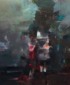 "Juliano Kaglis, ""the celebration"", oil on canvas, 190x160 cm"