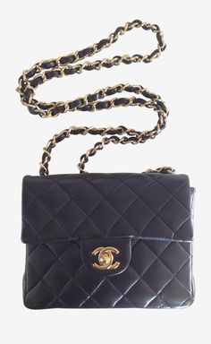 Black Shoulder Bag / by Chanel