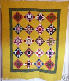 Antique Quilt-- Variable Star -PA bright !-late 1800's   eBay, mothanatur