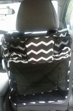 If you like the idea of the On A Stroll Bag but you're not in stroller mode, it also works great on the back of your car seat!