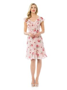Simple Dresses, Blue Dresses, Vintage Dresses, Beautiful Dresses, Girls Dresses, Flower Girl Dresses, Rose Bay, Empire, Full Skirt Dress