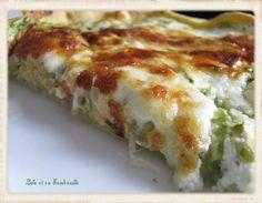 Tarte courgettes, saumon fumé, mozzarella (4)