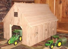 Furniture With A Soul Wooden Toy Farm, Wooden Barn, Cool Woodworking Projects, Wood Projects, Woodworking Jobs, Craft Stick Crafts, Wood Crafts, Kids Barn, Toy Barn