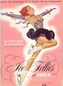 1954 Ice Follies program