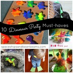 10 Dinosaur Party Must-Haves: Boy Birthday Ideas - Spaceships and Laser Beams