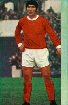 Tony Dunne of Man Utd in 1971.