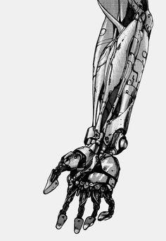 bushidocaps:  Tetsuo's arm