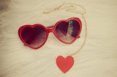 #glasses #heart #vintage