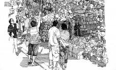 sketches of hong kong life - Google Search