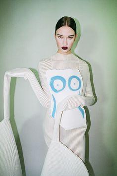 Lara Verheijden for Contributor Magazine .Model: Lieke van HoutenMUA: Sanne Bleeker