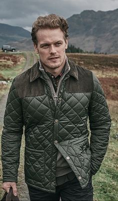 Sam Heughan for Barbour #barbour #samheughan #scotland #outlander
