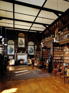 Library: English Country Homes 1830/1900.