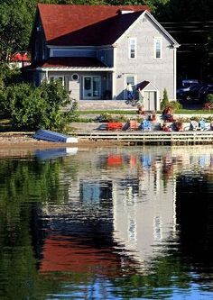 Baddeck, Nova Scotia, Reflections