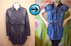 DIY: Summer jeans dress...