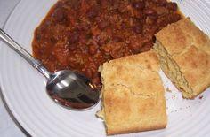 Skinny GF Chef : 30 minute GF chili and cornbread dinner