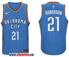 7707581a8 Men s Nike NBA Oklahoma City Thunder  21 Andre Roberson Jersey 2017-18 New  Season