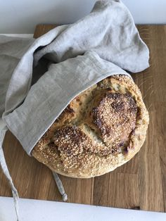 Eltefritt grytebrød med surdeig – Godt nok