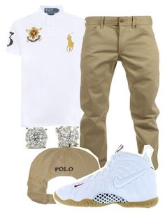 """Untitled #52"" by young-rich-nvgga ❤ liked on Polyvore featuring Polo Ralph Lauren, Woolrich, NIKE, men's fashion and menswear"