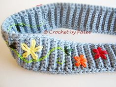 Free Pattern  Ravelry: Easy Headband pattern by Palm Dickerson