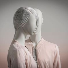"HANS BOODT MANNEQUINS, The Netherlands, ""Kylie... Do you want to know a secret? Do you promise not to tell?... Let me whisper in your ear, say the words you long to hear..."", pinned by Ton van der Veer"
