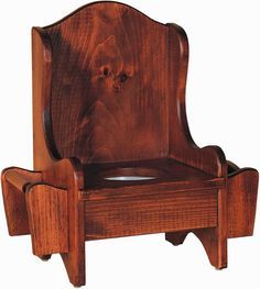 Amish Kids Pine Wood Potty Chair