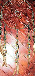Spider Web Pattern Dreamcatcher