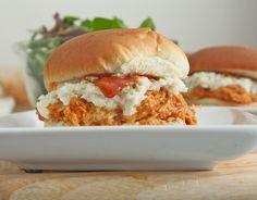 Sweet & Spicy Pulled BBQ Chicken Sandwiches Recipe | Divas Can Cook