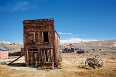 Poster Print-Abandoned wooden house and wagon in Bodie ghost Town, California, Poster sized print made in the USA Wooden House, Best Photographers, Ghost Towns, Wild West, Abandoned Places, Poster Size Prints, Cabin, Outdoor, Wallpaper