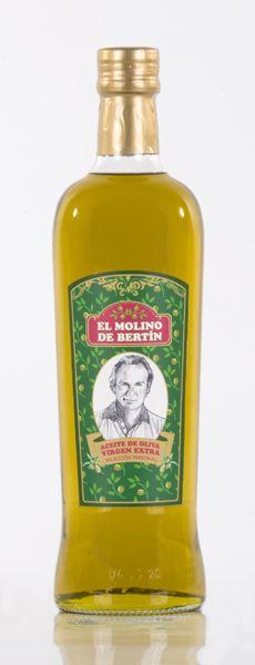 Diseño Etiqueta Aceite para Bertín Osborne Alimentación (antigua)