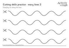 Cutting Wavy Lines 2