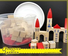 It is the start of the holiday season for kids and wholesome entertainment is hard to come by. We've got you covered at with a huge range of toys, such as these wooden building blocks in a storage bucket. Visit your nearest branch today!