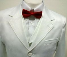 New Men's 3 Piece White tone Dress Suit - Jacket, Pants & 6 Button Vest at Amazon Men's Clothing store: Business Suit Pants Sets