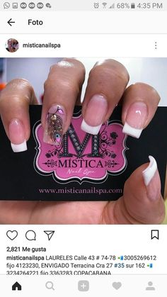 #unasdecoradas Us Nails, Swag Nails, Hair And Nails, Cute Pedicure Designs, Nail Art Designs, Nail Spa, Manicure And Pedicure, Cute Pedicures, Birthday Nails