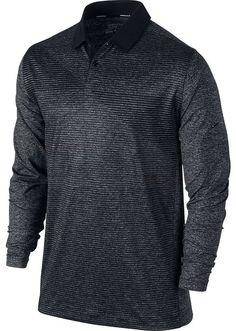 Nike Men's Premium Long- Sleeve Golf Shirt, Tour Performance, Dri-Fit-Tech, NWT #Nike #GolfPremiumLongSleevedShirt