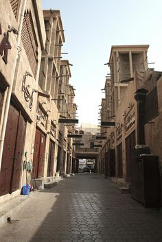 Bastakiya, Old Town, Dubai