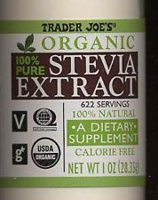 Make Your Own {Non-Processed} Stevia Extract, Trader Joe's 100% powdered sweetener, processed, headaches, trace chemicals,