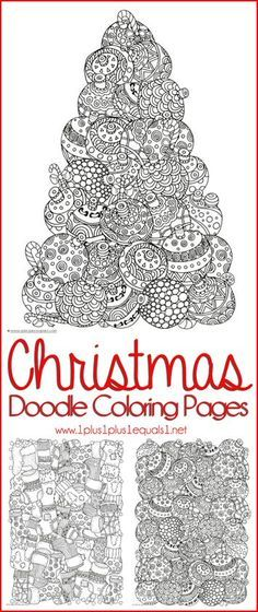 Christmas coloring pages for kids and adults                                                                                                                                                                                 More