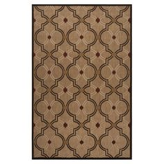 Indoor/outdoor trellis-print rug. Made in Turkey.   Product: RugConstruction Material: 100% OlefinColor: