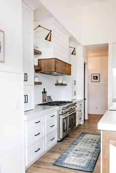 SMI Modern Farmhouse Kitchen and Dining Nook - Sita Montgomery Interiors