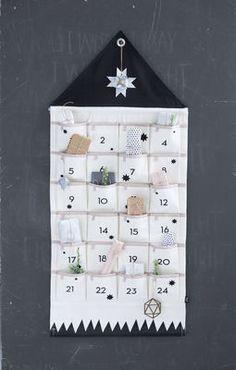 House Adventskalender / aus Stoff - Ferm Living