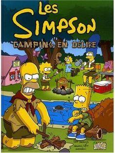 Couverture Les Simpson, tome 01 : Camping en délire