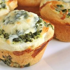 These Greek-inspired pizza muffins are great for game day gatherings.