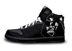 Darth Vader sneakers