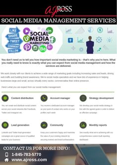 Social Media Management Services in Westchester Social Media Channels, Advertising Agency, Lead Generation, You Really, To Tell, Need To Know, Social Media Marketing, Followers, Told You So