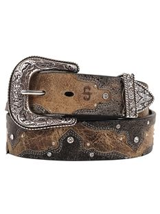 Womenss Western Belts - Leather Belts | Stetson - Women's Belts - amzn.to/2hOqA0h Clothing, Shoes & Jewelry - Women - women's belts - http://amzn.to/2kwF6LI